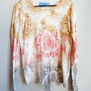 Vera Wang Sweater Multi Color LIKE NEW